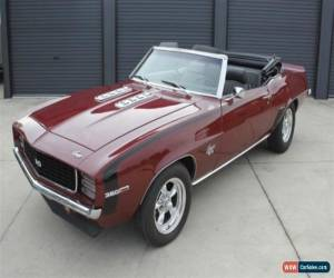 Classic 1969 RS SS Camaro Convertible for Sale
