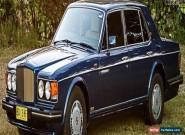 1988 Bentley Turbo R Auto for Sale