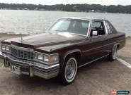 1977 - Cadillac - De Ville for Sale