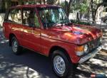 1977 - Land Rover - Range Rover for Sale