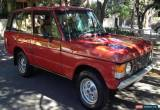 Classic 1977 - Land Rover - Range Rover for Sale