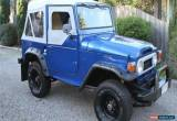 Classic Toyota Land Cruiser for Sale