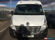 "L@@K 2011 RENAULT MASTER ""11"" REG LM35 DCI 125 WHITE.SPARE OR REPAIR.NON RUNNER for Sale"