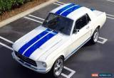 Classic 1967 Ford Mustang Manual for Sale