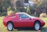 Classic 1974 Maserati Merak Manual for Sale