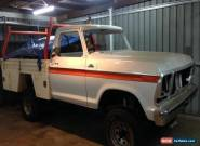 1978 Ford F100 XLT Manual 4WD for Sale