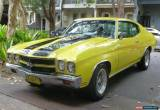 Classic 1970 - Chevrolet - Chevelle for Sale