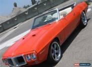 1969 - Pontiac - Firebird for Sale