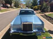 1979 Lincoln for Sale