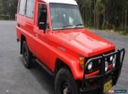 1987 - Toyota - Landcruiser for Sale