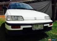 1988 - Honda - CRX for Sale