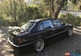Classic 1999 BMW 750iL E38 Auto for Sale
