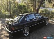 1999 BMW 750iL E38 Auto for Sale