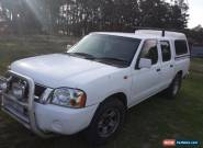 2002 nissan navarra crew cab for Sale