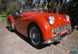 Classic 1959 Triumph 4 cylinder Petr for Sale