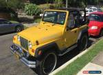 2000 Jeep 6 cylinder Petr for Sale