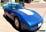 Classic 1987 - Chevrolet - Corvette for Sale