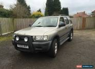 2001 VAUXHALL FRONTERA GOLD for Sale