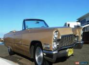 1968 Cadillac De Ville Auto for Sale