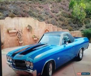Classic 1970 Chevrolet El Camino SS Auto for Sale