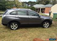 Holden Captiva LX 60th Anniversary (4x4) (2008) 4D Wagon Automatic (3.2L -... for Sale