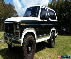 Classic 1985 Ford Bronco Manual 4x4 for Sale