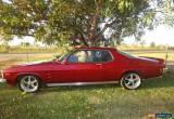 Classic 1975 - Holden Holden Monaro 1975 GTS for Sale