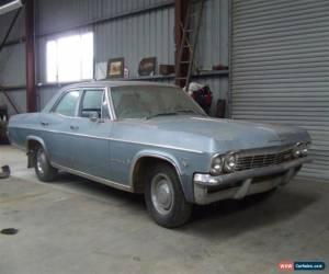 Classic Chev Impala 1965 Fisher Body! Survivor Car! for Sale