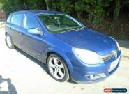 2005 VAUXHALL ASTRA SRI CDTI 150 XPACK BLUE for Sale