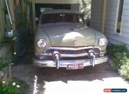 Ford 1951 Custom  Twin Spinner  , Old blokes Hot R for Sale