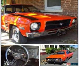 Classic Genuine Holden 1972 HQ SS Infra Red for Sale