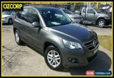 Classic 2010 Volkswagen Tiguan 5NC MY11 103 TDI Grey Automatic 7sp A Wagon for Sale