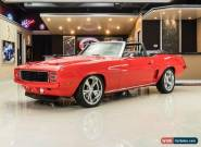 1969 Chevrolet Camaro Convertible Restomod for Sale