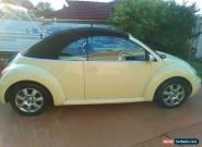 VW beetle 2003 Cabriolet for Sale