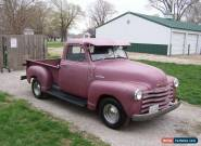 1953 Chevrolet Other Pickups 3100 3W SHORTBED for Sale