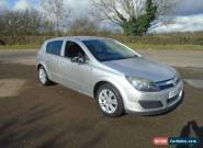2006 VAUXHALL ASTRA ACTIVE AUTO SILVER ** HPI CLEAR ** for Sale