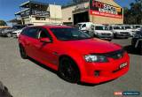 Classic 2010 Holden Commodore VE SV6 Red Automatic A Wagon for Sale