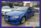 Classic 2007 Holden Commodore VE SV6 Blue Automatic 5sp A Sedan for Sale
