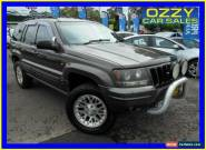 1999 Jeep Grand Cherokee WJ Limited (4x4) Grey Automatic 4sp A Wagon for Sale