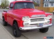 1958 Chevrolet C-10 for Sale