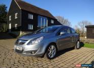 2007 VAUXHALL CORSA SXI A/C SILVER FULL SERVICE HISTORY HPI CLEAR MOT'D  for Sale