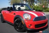 Classic 2012 Mini Cooper Convertible for Sale