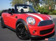 2012 Mini Cooper Convertible for Sale