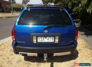 2006 Holden Adventra VZ MY06 CX6 Blue Automatic 5sp A Wagon for Sale