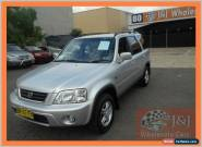1999 Honda CR-V (4x4) Silver Manual 5sp M Wagon for Sale