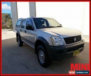 Classic 2005 Holden Rodeo RA MY05 LX Utility Crew Cab 4dr Auto 4sp 1105kg 3.5i A for Sale