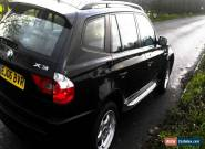 2006 BMW X3 D BLACK for Sale