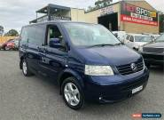 2005 Volkswagen Multivan T5 Highline Blue Automatic A Wagon for Sale