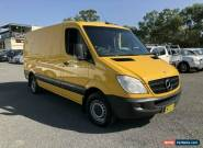 2011 Mercedes-Benz Sprinter NCV3 313CDI Yellow Manual 6sp M Van for Sale