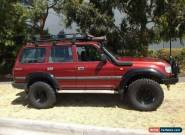 1994 Toyota Landcruiser GXL (4x4) Red Manual 5sp M Wagon for Sale